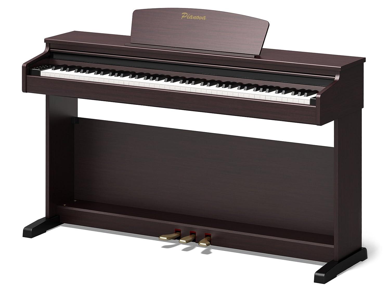 Pianova P-171 RW - Piano Digital con 88 Teclas Contrapesadas de Acción Martillo: Amazon.es: Instrumentos musicales