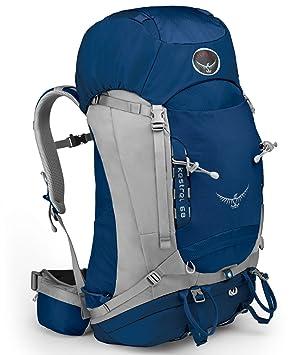 7a9a6c9546 Osprey Kestrel 68 hiking bag S M blue 2014  Amazon.co.uk  Sports ...