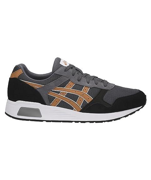 Asics Lyte Trainer Hombre Zapatillas Gris: Amazon.es: Zapatos y complementos