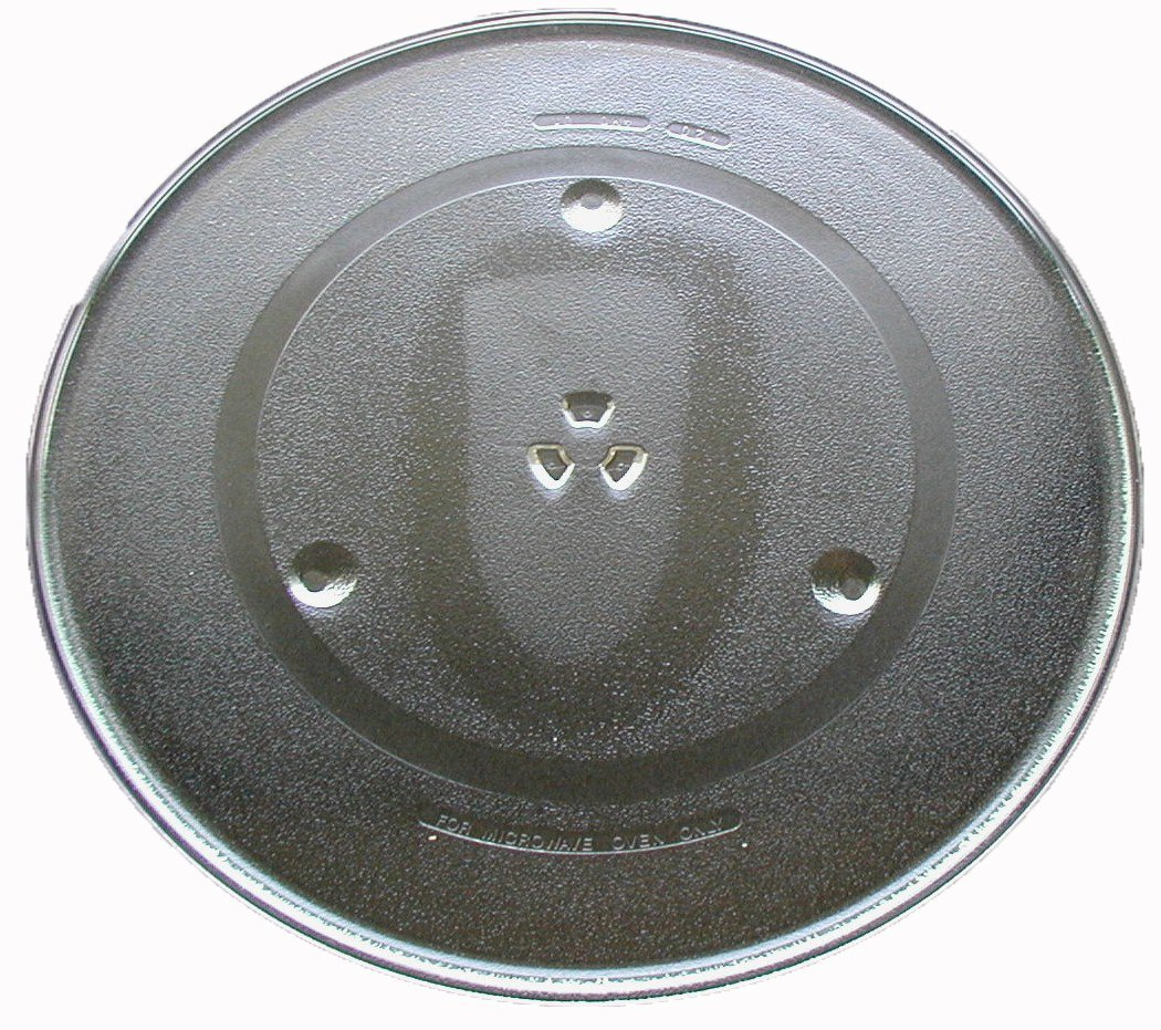 "Panasonic Microwave Glass Turntable Plate / Tray 16 1/2"" # F06014M00AP"