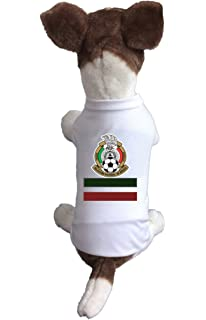 Dog Soccer Jersey Mexico-Pet T-shirt- Made of 100% Polyester-