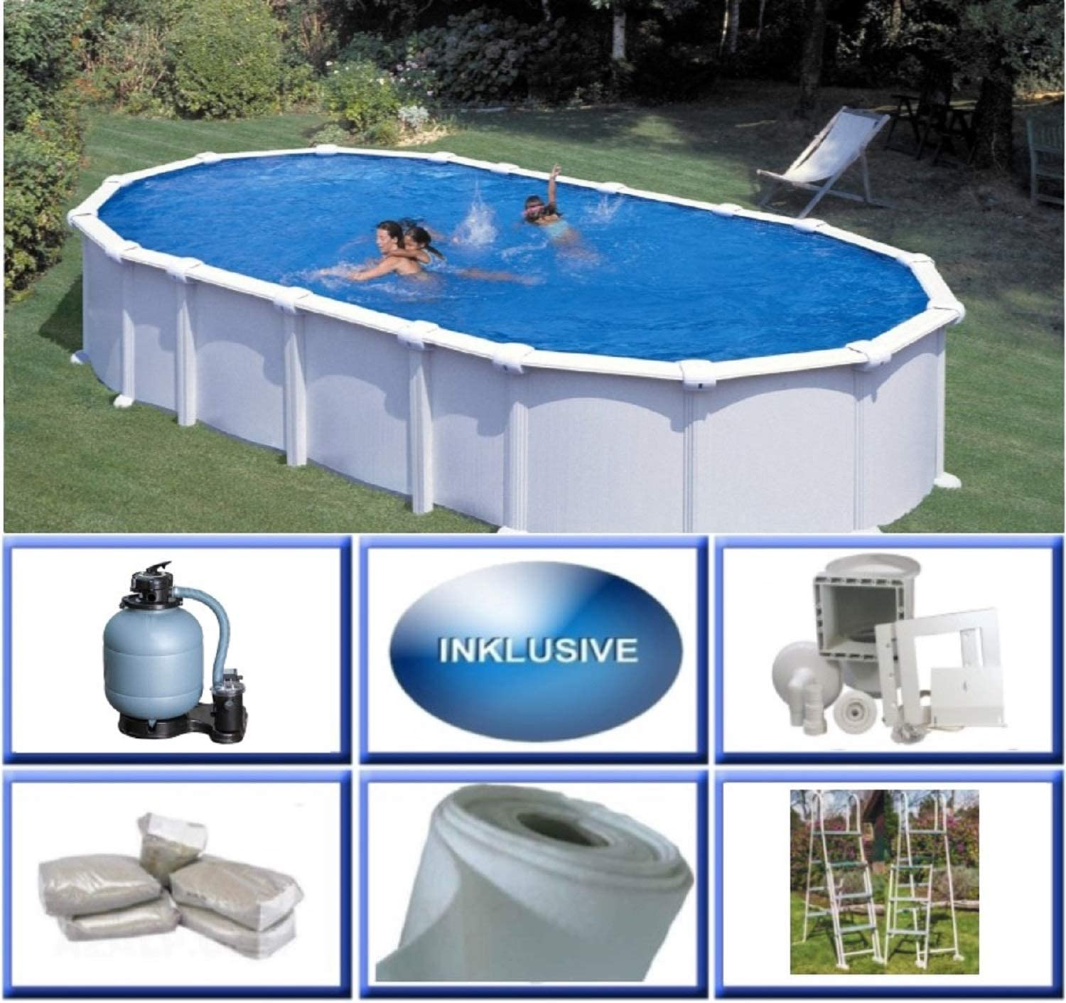 Piscina desmontable bricodepot