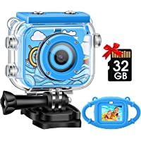 Kids Camera,Gofunly Waterproof Action Video Digital Camera,Underwater Sports HD Camcorder for Boys Girls with 1080P 12MP…
