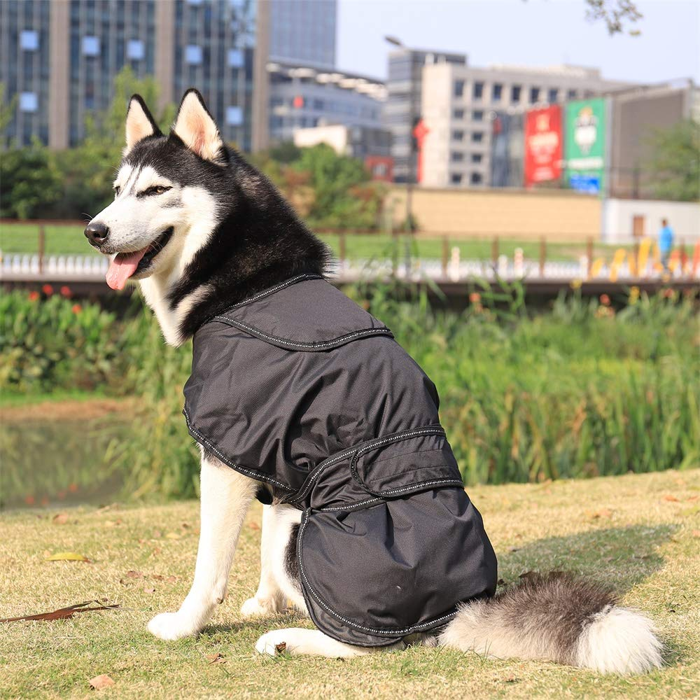 PAWZ Road 2 in 1 Dog Jacket,Pet Winter Coat Warm Vest for Small Medium Dogs and Cats,Waterproof and Windproof,with Reflective Strip Fit All Seasons Size S