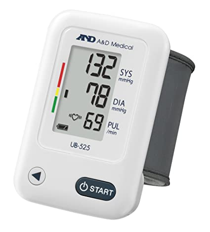 UB-525 Tensiómetro digital de muñeca, detección de pulso arrítmico, validado clínicamente
