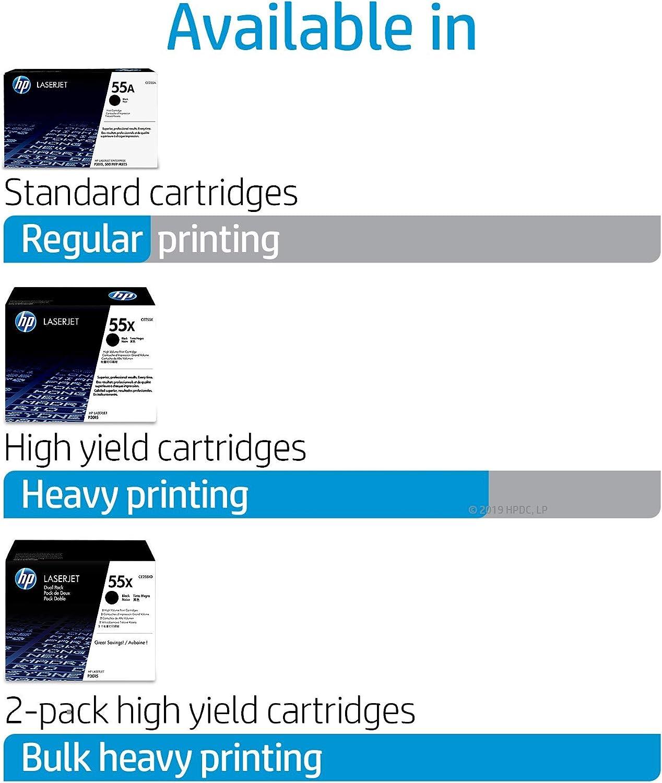 *Used HP Genuine OEM CE255XC Toner for HP  P3015 M521 M525 90/%