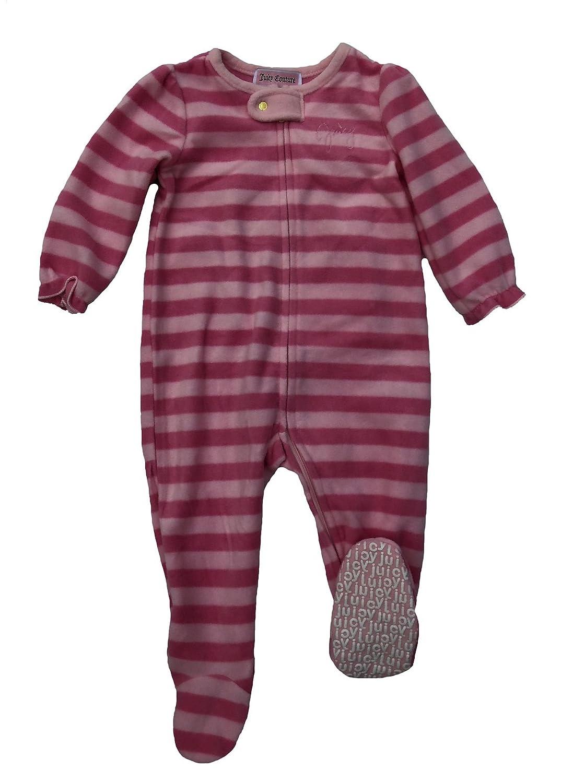 人気商品 Juicy Couture Baby B0182ZRYO4 GirlsピンクストライプFootieロゴカバーオール 24 Months Pink/Pink Baby stripe Months B0182ZRYO4, 赤坂ワインストア エラベル:8cbdfea1 --- a0267596.xsph.ru