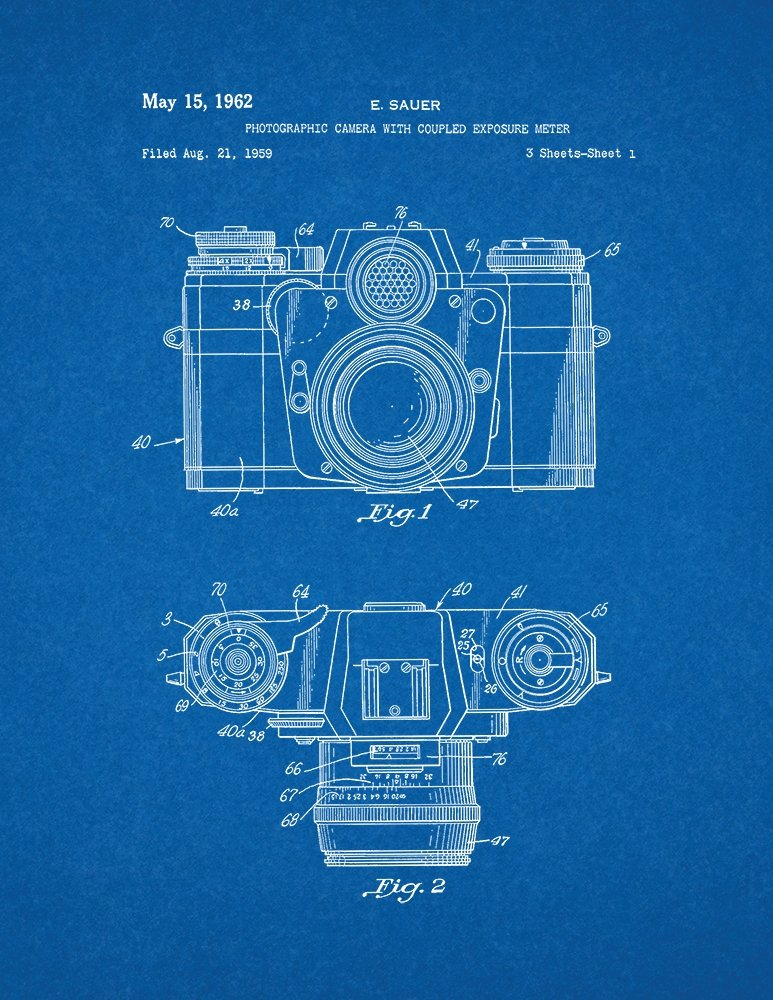Amazon photographic camera with coupled exposure meter patent amazon photographic camera with coupled exposure meter patent print art poster blueprint 11 x 14 posters prints malvernweather Choice Image