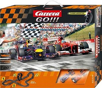 Carrera GO!!! Lap Record - Set de circuito y coches teledirigidos: Amazon.es: Electrónica