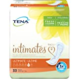 Tena Incontinence Pads for Women, Ultimate, 33 Count (Pack of 3)- (Packaging May Vary)