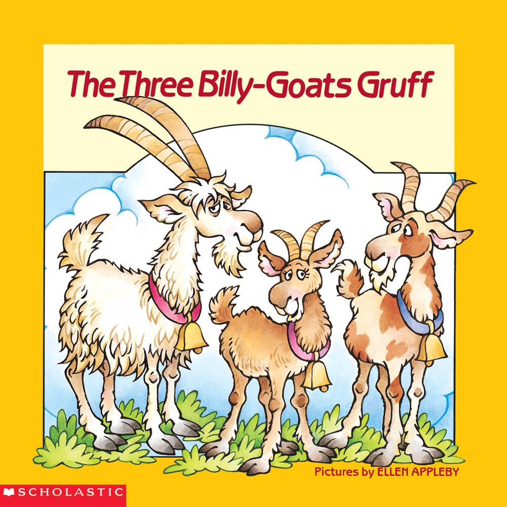 The Three Billy-goats Gruff (Easy-To-Read Folktales)