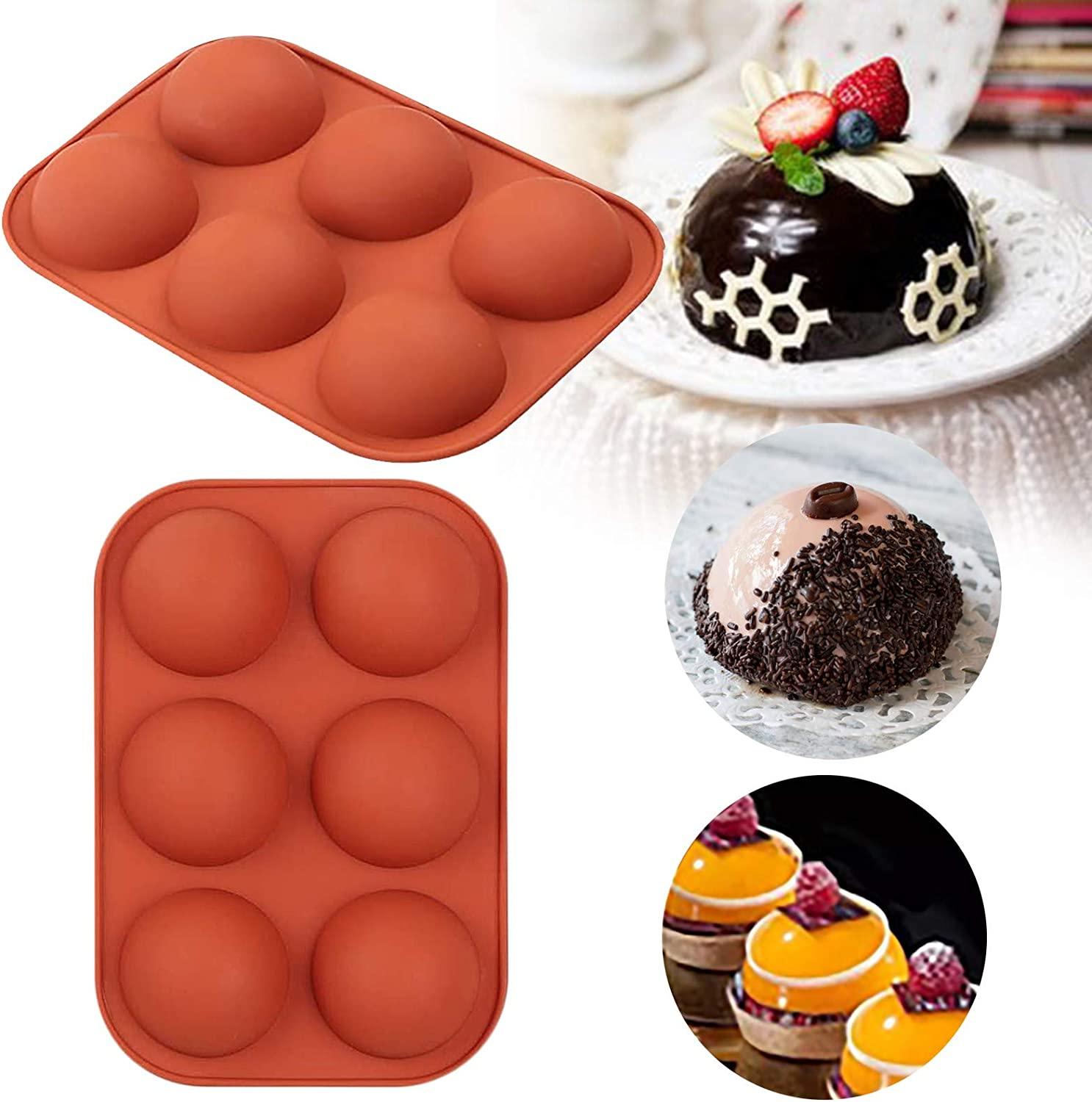 Silicone Mold Chocolate Soap Maker Cake Pastry Kitchen Baking Tools LP