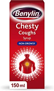 Benylin Chesty Non Drowsy Mixture Syrup 150ml