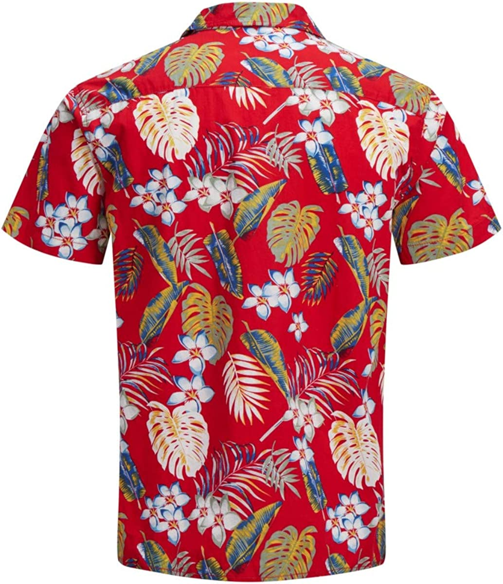 JACK /& JONES Jorcole Shirt SS Org Camicia Uomo