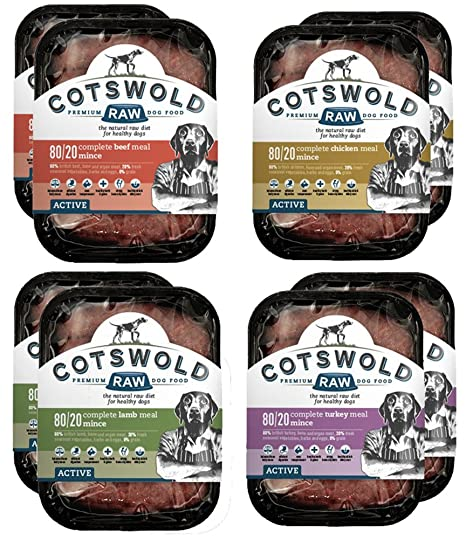 Cotswold Raw Active 80/20 Mince - Pack de mezcla de ...