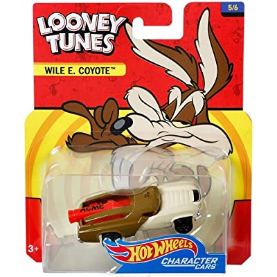 Hot Wheels Looney Tunes Wile E Coyote Vehicle: Toys & Games