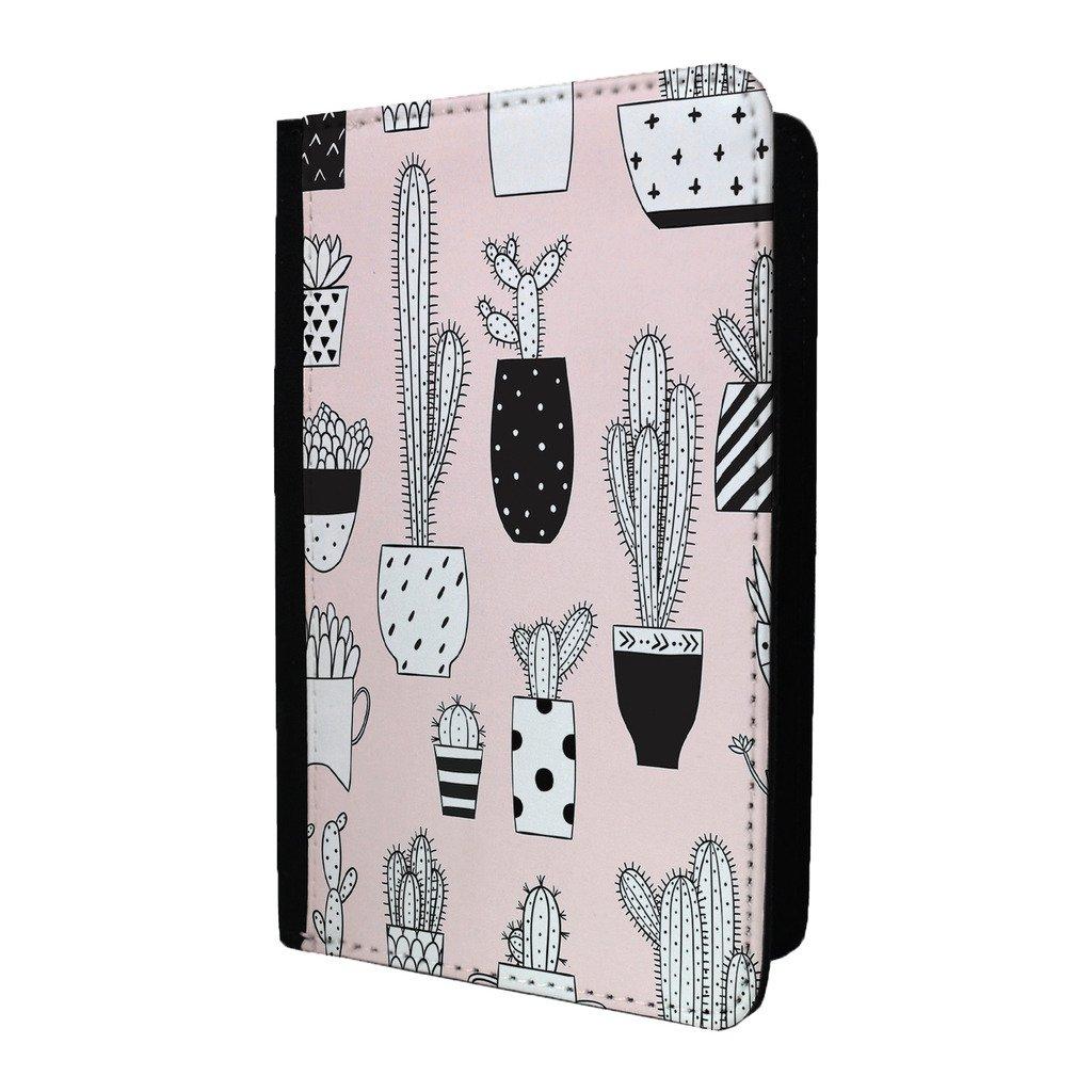 Cactus Collage Coque passeport Motif–S84