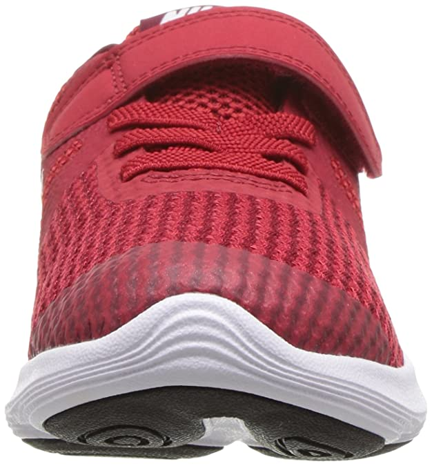 cheaper 21622 09eb3 Nike Unisex Kids  Kleinkinder Sneaker Revolution 4 Low-Top Gym Red White-Te  601, 1 UK  Amazon.co.uk  Shoes   Bags