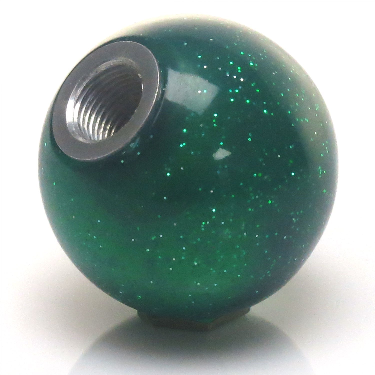 Black Dragon Ball Z - 6 Star American Shifter 141758 Green Metal Flake Shift Knob with M16 x 1.5 Insert