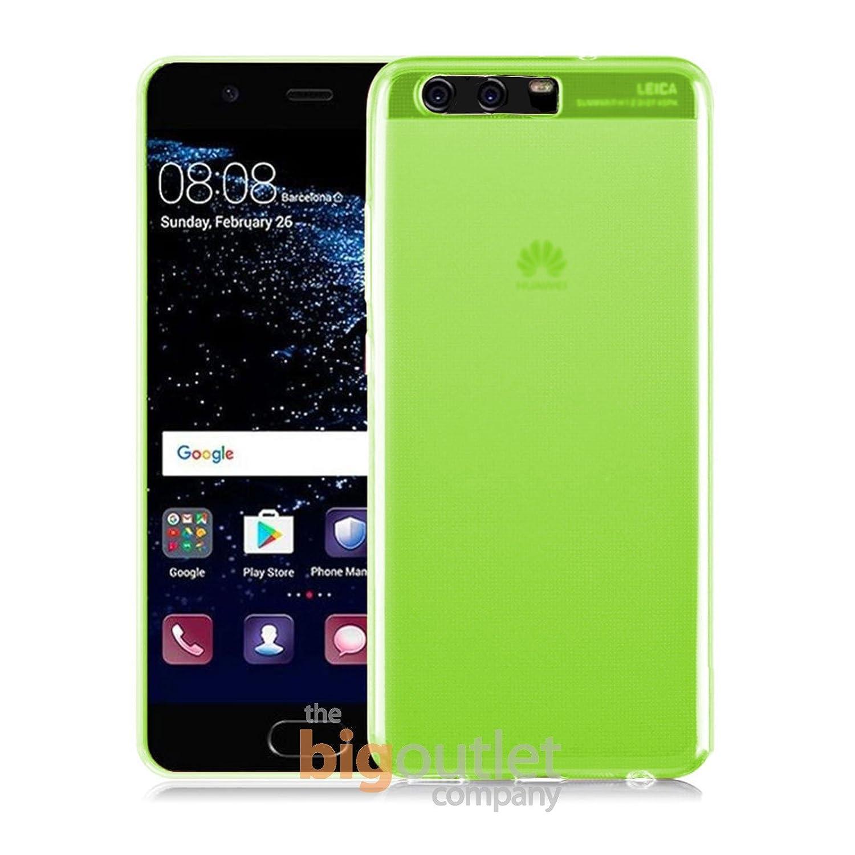 5.5 Pulgadas de Silicona Ultrafina y Flexible TBOC/® Funda de Gel TPU Morada para Huawei P10 Plus