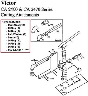 Amazon.com: Victor CA1350 & CA1260 Cutting Torch Rebuild/Repair ...