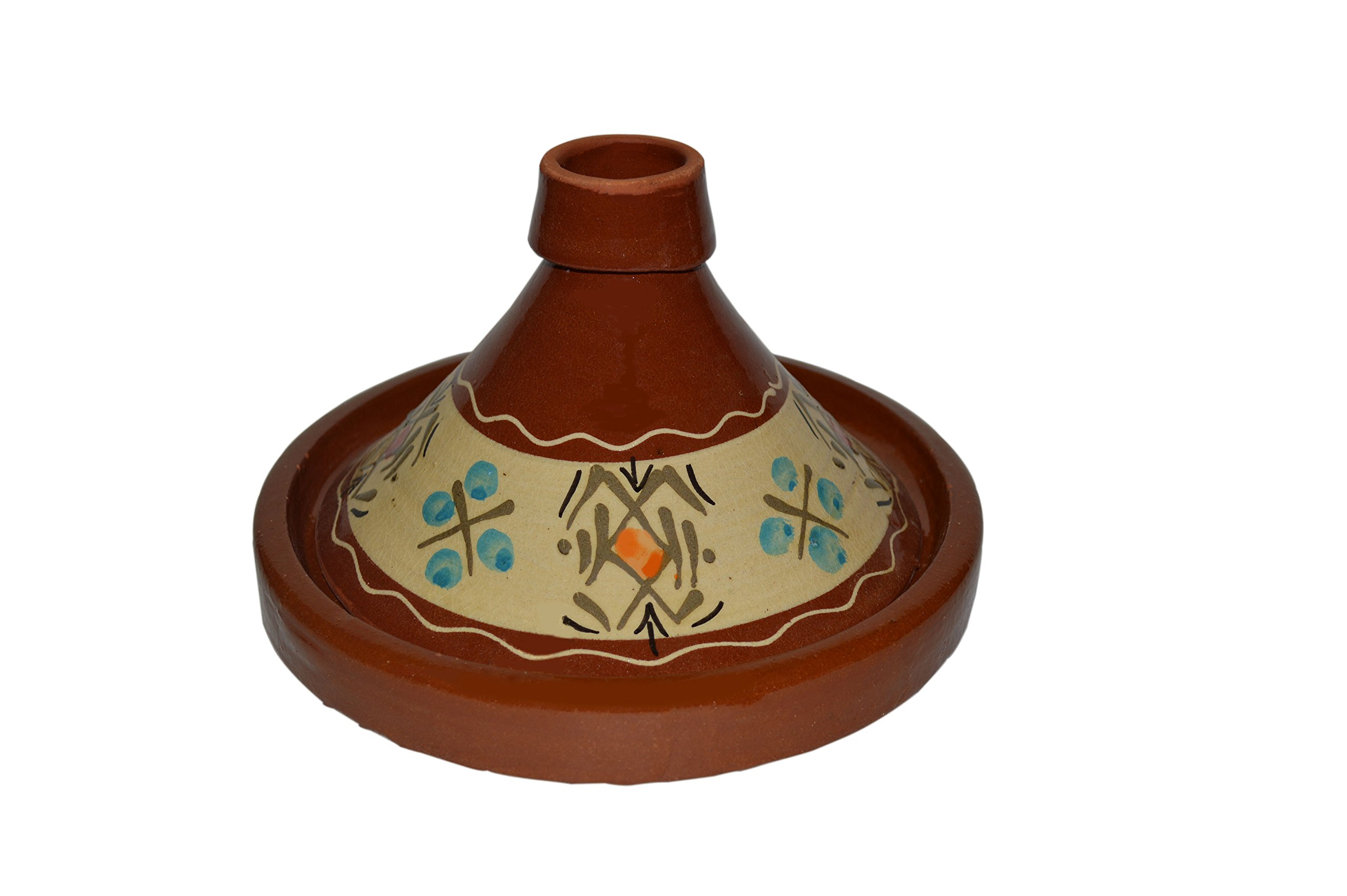 Moroccan Simple Small Cooking Tagine Lead Free Terracotta Cookware Pot Baker