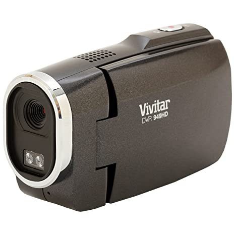 amazon com vivitar dvr949 black 12 1mp full hd digital camcorder rh amazon com