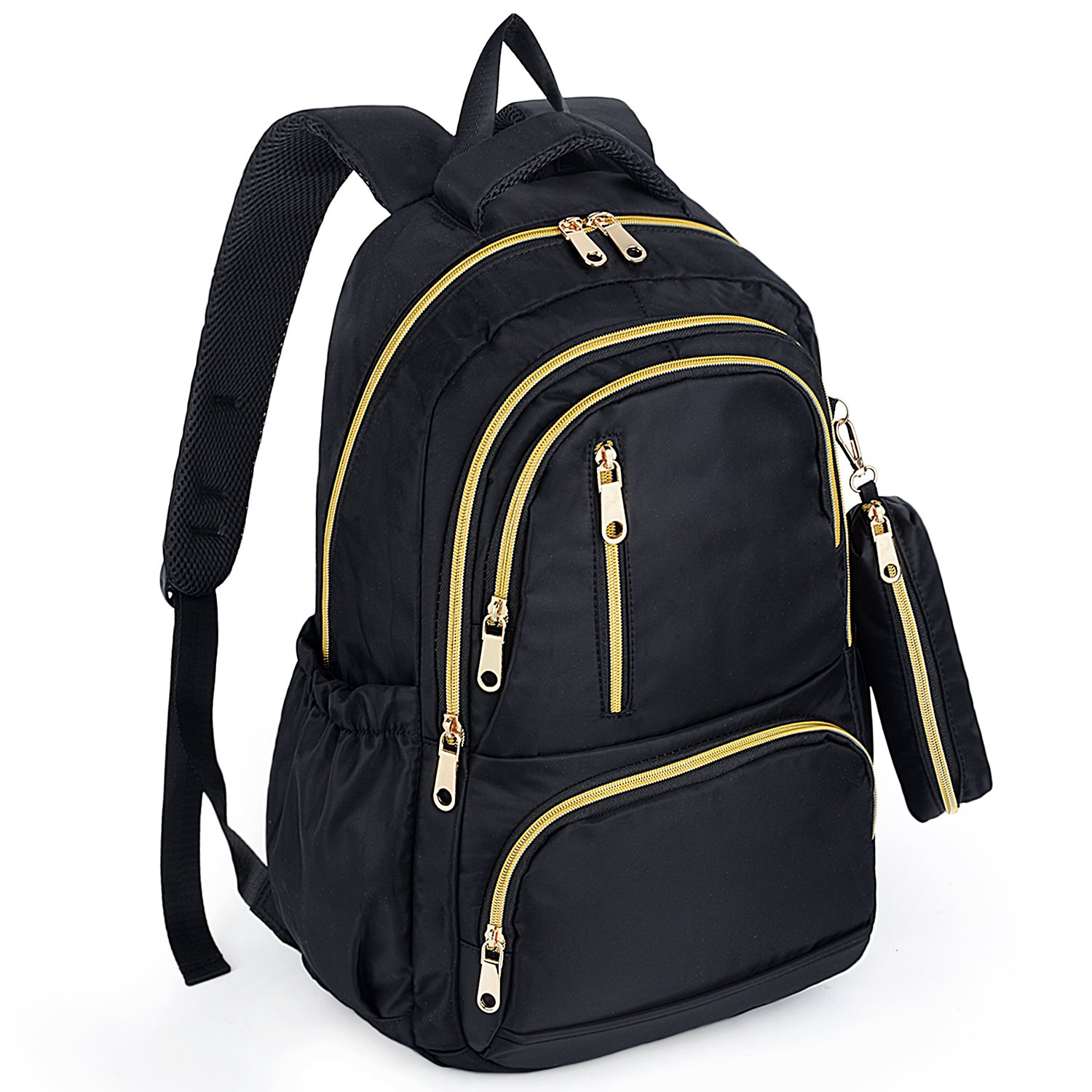 UTO Fashion Backpack Oxford Waterproof Cloth Nylon Rucksack School College Bookbag Shoulder Purse Pencil Bag