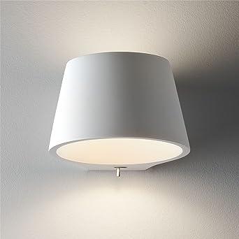Astro Koza Innenraum E14 Weiss Wandleuchte Lampe Geburstet