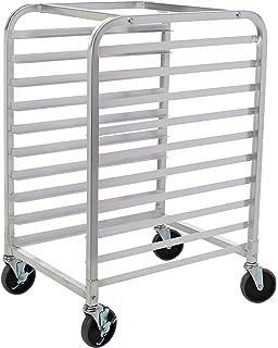 new star 1 pc commercial kitchen 10 tier bun pan rack sheet pan rack with brake