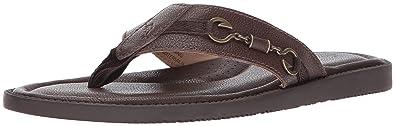 a246dc5561b6e Tommy Bahama Men s Belize Vintage Sandal Dark Brown 7 ...
