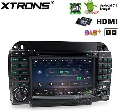 Xtrons 7 Touch Screen Autoradio Mit Android 7 1 Elektronik