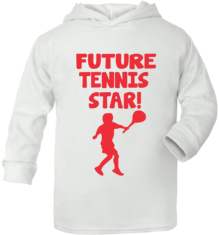 Print4u Future Tennis Star Sport Supersoft Baby Hoodie