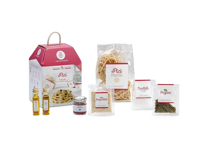 PICI TOSCANI con Tartufo e Acciughe My Cooking Box x2 Porzioni - Idea Regalo San Valentino 2020