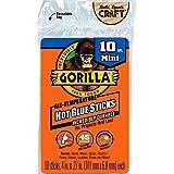 Hot Glue Sticks, Mini Size, Diameter, Clear, 10 Count, Pack of 1 (4 Inch Long x .27 Inch)