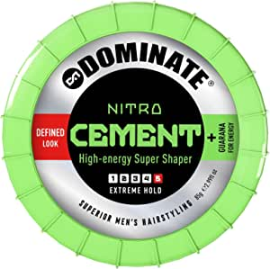 Dominate Nitro Cement Hair Styling Paste, Salon Series, 85g