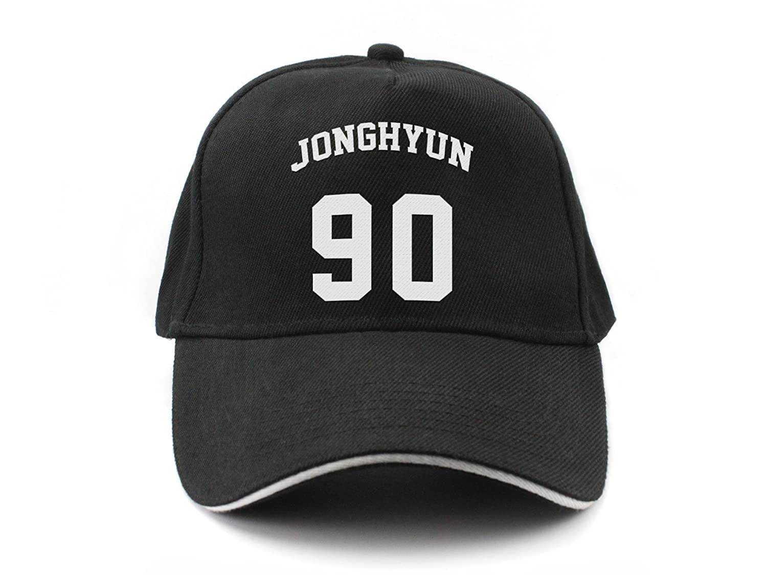 Fanstown Kpop Shinee Member Name and Birth Year Number Baseball Cap Fanshion Snapback with lomo Card