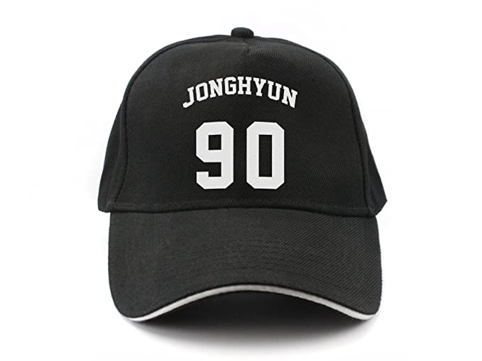Fanstown Kpop Shinee Member Name and Birth Year Number Baseball Cap  Fanshion Snapback with lomo Card c23aad7b6b5