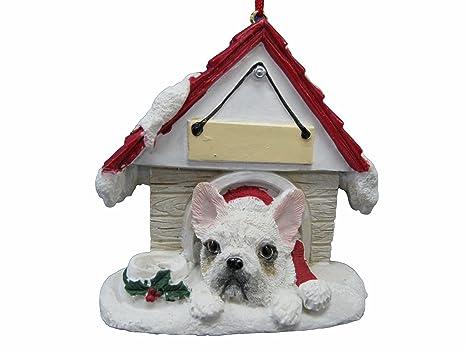 E&S Pets Bulldog francés, Adorno Blanco un Gran Regalo para Bulldog francés, dueños Blancos