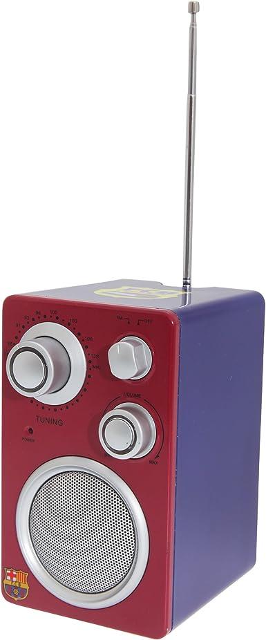 FC Barcelona FM Radio Tower con Club Escudo Scarlet/Blau ...