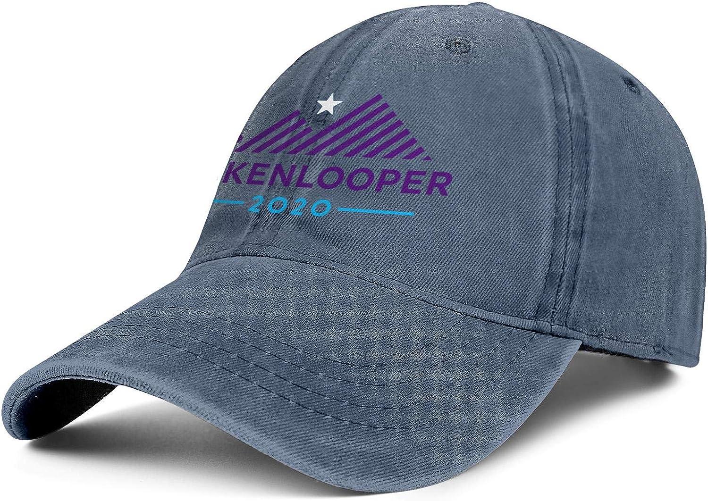Unisex Low Denim Dad Hat Adjustable John Hickenlooper 2020 Tennis Baseball Hat