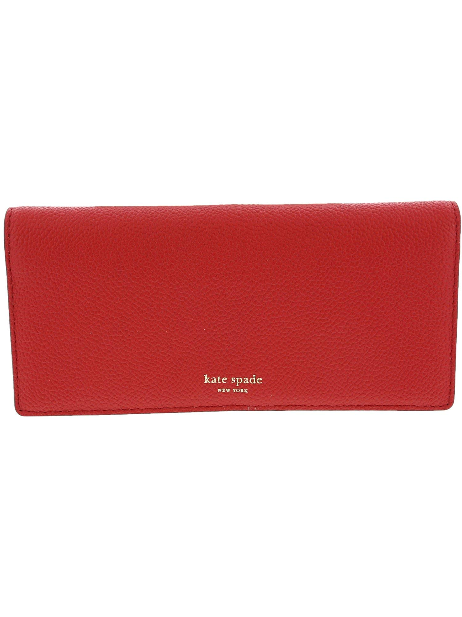 Kate Spade New York Women's Margaux Bifold Continental Wallet Hot Chili One Size by Kate Spade New York