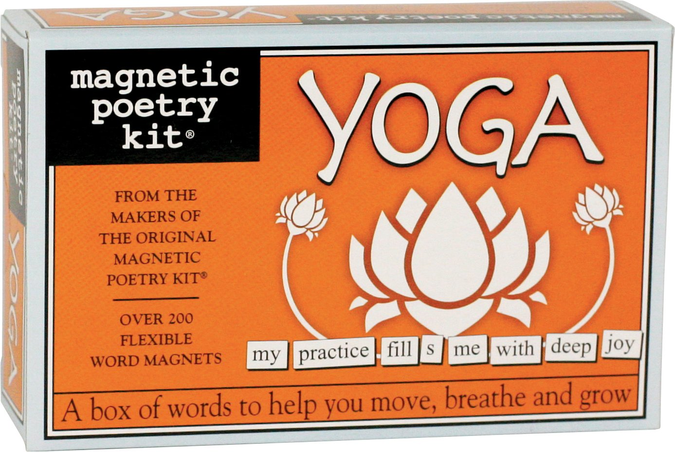 Amazon Magnetic Poetry Yoga Kit Words For Refrigerator