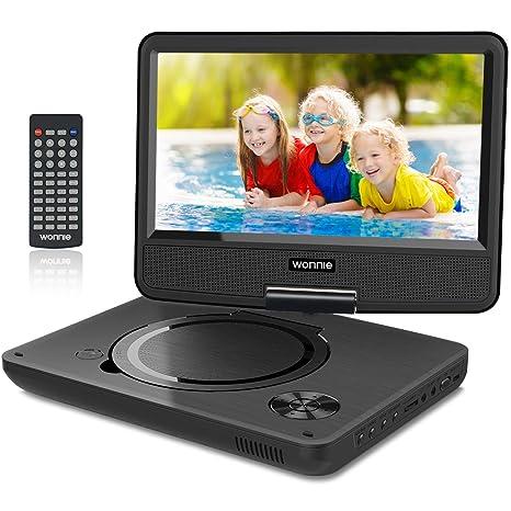 Amazon.com: WONNIE - Reproductor de DVD portátil para niños ...