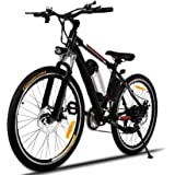 Hicient Electric Bike Electric Bicycle for Adult 26'' Electric Mountain Bike 250W Ebike 21 Speed Gear with Removable…