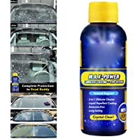 Leorealko Car Glass Anti-Fog Agent,Rear Window Cleaners,Cleaning Kits,Car Care,Defoggers,Paint Cleaners,Polishes,Liquid Car Rainproof Agent Glass Coating Cleaner Rain Mark Remover