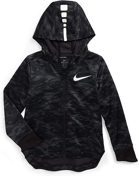 Nike Little Kids Therma Full Zip Training Hoodie