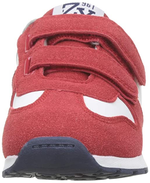 Amazon.com | ZIPPY Boys Zapatillas para Niño Slip On Trainers, Red (Scarlet 19/1760tc 371), 13 UK | Sneakers