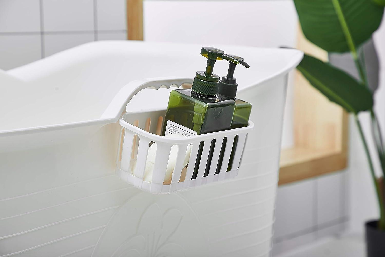Grau Stylisch und Stimmungsvoll Mobile Badewanne Ideal f/ür das kleines Badezimmer