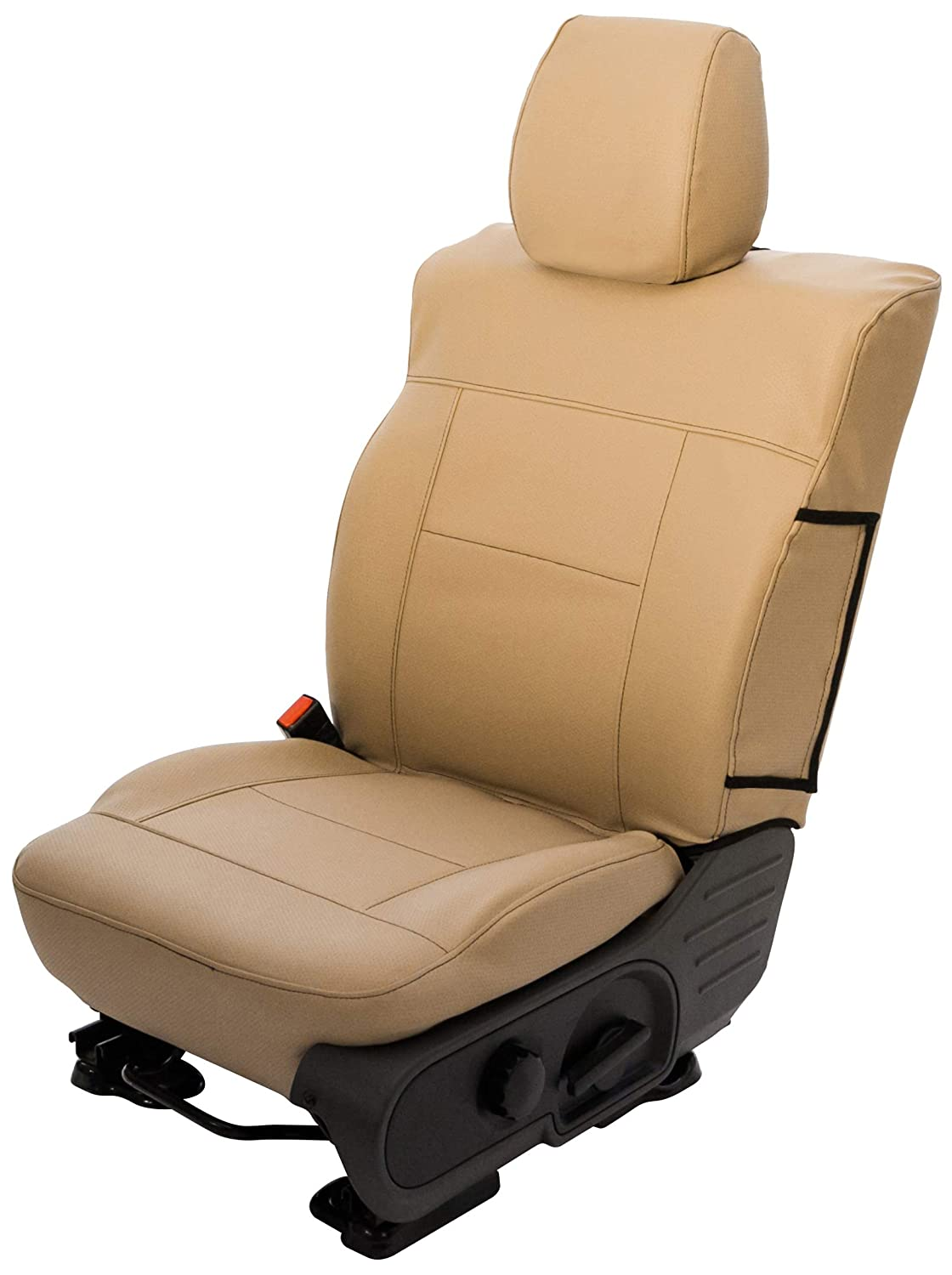Saddleman S 779930-14 Gray Custom Made Front Low Back Bucket with Airbag Seat Covers